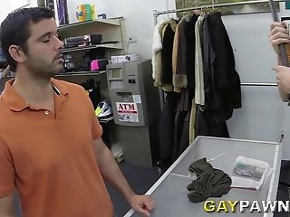 Dark-haired Homo Rides A Dick After Sucking It Hungrily