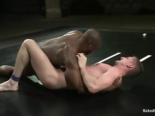 Derek Reynolds Gets His Gay Butt Pounded By Troy Daniels On A Ring