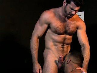 Hairy Gay Hunk Giving Stripper A Facial Drtuber